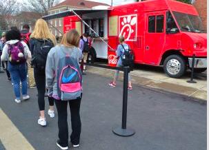 Ole Miss Campus Food Trucks